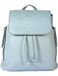 1181ffeee001f Echtleder Damen Rucksack Leichter Tagesrucksack Daypack Lederrucksack  Damenrucksack versch.