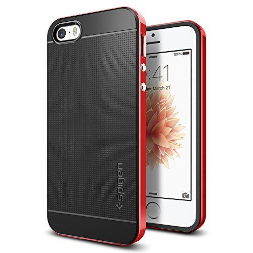 cover-iphone-5s-spigen-cover-iphone-se-5-stile-elegante-bumper-neo-hybrid-dante-red-elaborata-strutt