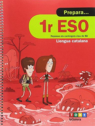 Prepara 1r ESO Llengua catalana (Quaderns estiu)