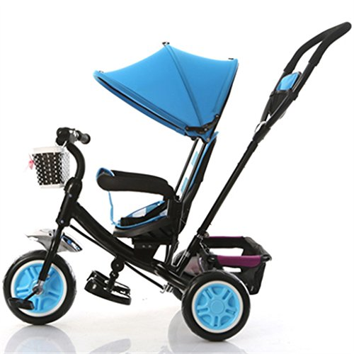 27941398d2c QWM-Baby child bicycles Child Indoor Outdoor Small Tricycle Bicycle Boy's Bike  Girl's Bike For 1-3 Years Old Baby Three Wheels Trolley With Awning ...