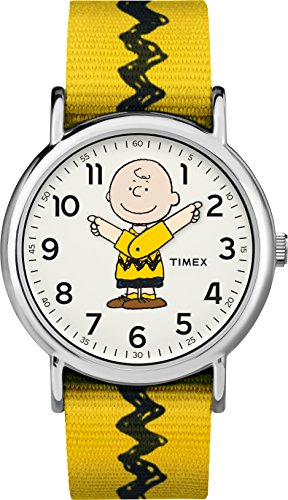 Timex Weekender Peanuts Collection One Size Charlie Brown (Uhren Timex Kinder)
