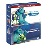 Monsters University (3D) / Monsters & Co. (3D) (2 Blu-Ray+2 Blu-Ray 3D)