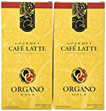 2 Boxes Organo Gold Gourmet Cafe Latte 14.8oz (1 Box of 20 Sachets)
