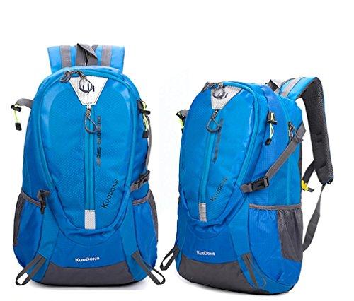 Zaino Outdoor loro zaini a spalla per gli uomini e le donne equitazione super leggero multiuso impermeabile sport borse da viaggio , fruit green color blue