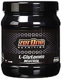 ZerOne L-Glutamin Pulver 500g, Made in Germany zur Regeneration Geschmacksneutral Unterstützt die Darmflora Muskelerhalt, Unflavoured Aminosäure