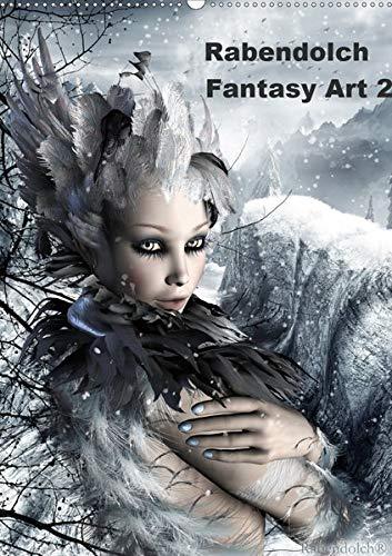 Rabendolch Fantasy Art / 2020 (Wandkalender 2020 DIN A2 hoch): Fantasybilder der Künstlerin Rabendolch (Monatskalender, 14 Seiten ) (CALVENDO Kunst) -