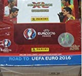 Road to UEFA Euro 2016 Trading Cards Display 50 Booster im Display
