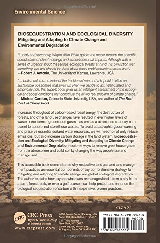 Biosequestration and Ecological Diversity: Mitigating and Adapting to Climate Change and Environmental Degradation (Social Environmental Sustainability)
