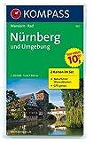Nürnberg und Umgebung: Wanderkarten-Set mit Naturführer in der Schutzhülle. GPS-genau. 1:50000 (KOMPASS-Wanderkarten, Band 163)