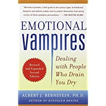 ‏‪Emotional Vampires Dealing with People Who Drain You Dry by Albert J. Bernstein - Paperback‬‏