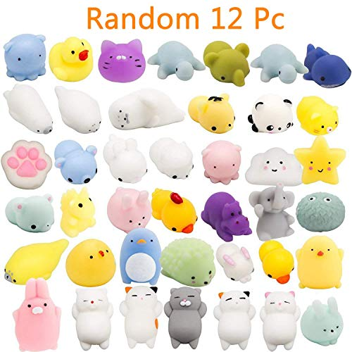 Initiative Cute 12cm Rainbow Unicorn Octopus Squishy Doll Phone Diy Decor Slow Rising Squeeze Toy Kids Fun Novelty Toy Gift Anti-stress Evident Effect Mobile Phone Straps Mobile Phone Accessories