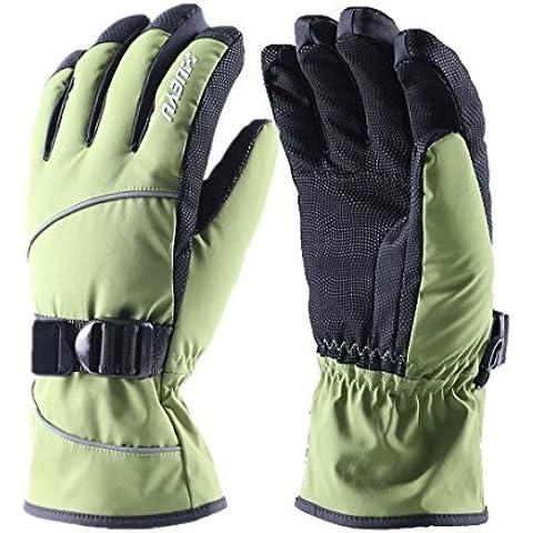 Esterno di inverno sci e snowboard guanti, impermeabili ispessimento velluto