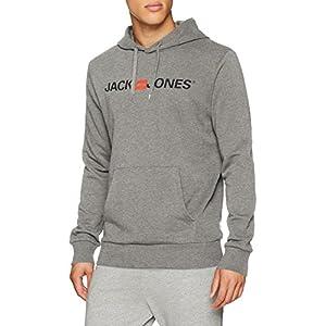 JACK & JONES Jjecorp Logo Sweat Hood Noos Cappuccio Uomo 5 spesavip