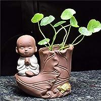 SHFives Boot Ceramic Vase Cute Buddha Vase