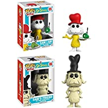 Funko POP! Dr. Seuss: Sam I Am + Sam's Friend - Green Eggs And Ham Vinyl Set NEW