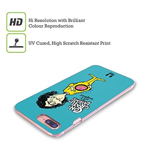 Head Case Designs Pizza Pazzi Sfortunati Cover Retro Rigida per Apple iPhone X Donought