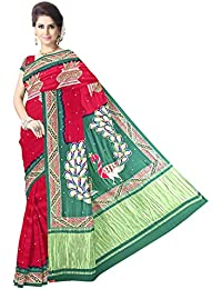 8d327e39b73e2 Amazon.in  Kala Sanskruti - Silk Sarees  Clothing   Accessories