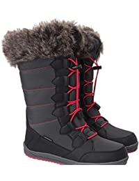 Mountain Warehouse Botas para mujer de la nieve de Whistler Blanco 40 S21TT8