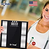 #2: Dr. Trust Smart Body Composition Monitor Fat Analyzer & Weighing Scale With Digital Thermometer