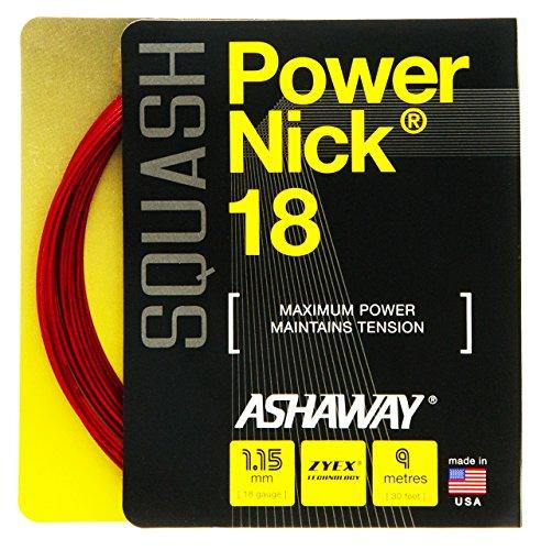 ASHAWAY PowerNick 18Squash Set 1,15mm–rot Test