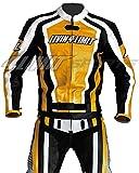 Motorrad Lederkombi 4LIMIT Sports LAGUNA SECA Motorradkombi Zweiteiler, Schwarz / Gelb M
