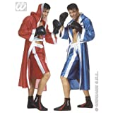 "M Mens BOXER Costume for Boxing Fighter Wrestler Sport Fancy Dress Outfit Medium 40-42""chest Adults Male"