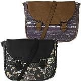 Animal Womens Chance Adjustable Strap Shoulder Cross Body Bag Handbag