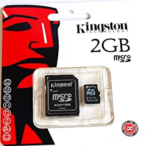 2GB Kingston MicroSD Card Transflash For Mobile Phone Camera