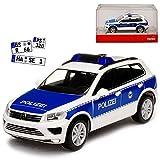 Volkwagen Touareg II 2 Bundes Polizei 2010-2018 H0 1/87 Herpa Modell Auto