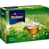 Meßmer Pfefferminze 50 TB, 2er Pack (2 x 112,5 g Packung)