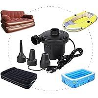 Bomba de aire eléctrica rápida para asientos, botes, camas de invitados, colchones de aire 150W/220–240V, TYPE-2