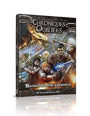 Asmodee - BBECOF02 - Chroniques Oubliées Fantasy - Recueil d'Aventures Scénarios