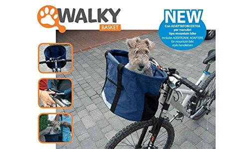 Transportín para bicicleta Walky Baloncesto +...