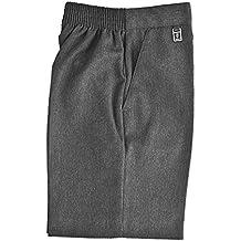7f8cdadc5f888 Zeco sold by Essential Wear Escuela Niños Uniforme Cintura elástica Pull Up Pantalón  Corto Pantalones Todos