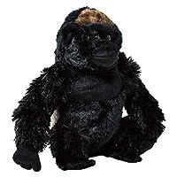 """Wild Republic Gorilla Silverback 12"""", Black [10929]"""