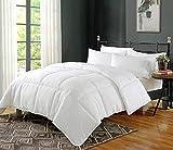 Rajasthan Crafts Ultra Soft Microfiber AC Comforter/Quilt/Duvet 300 GSM, White Color, King Size