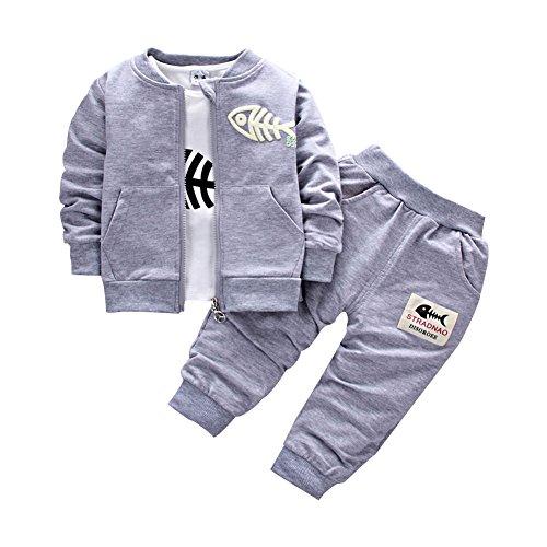BINIDUCKLING Bébé (garçon) 0 à 24 mois Ensemble 3 pièces tenues