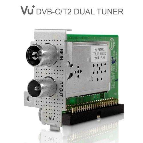VU+ DVB-C/T2 Dual Hybrid Tuner Solo SE V2, Solo 4K, Ultimo 4K