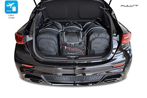 Preisvergleich Produktbild AUTO-TASCHEN MASSTASCHEN ROLLENTASCHEN INFINITI QX30 I, 2015- CAR BAGS - KJUST