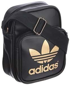 adidas AC Mini Shoulder Bag - Black/Metallic Gold, One Size