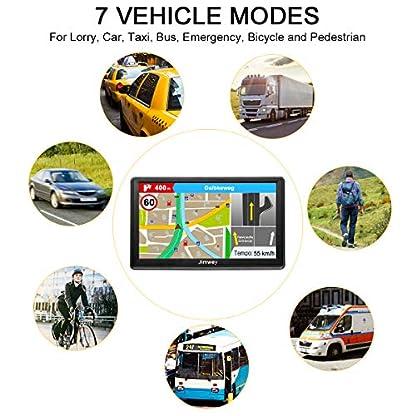 GPS-Navi-Navigation-fr-Auto-LKW-PKW-7-Zoll-16GB-Lebenslang-Kostenloses-Kartenupdate-Navigationsgert-mit-POI-Blitzerwarnung-Sprachfhrung-Fahrspurassistent-2019-Europa-UK-52-Karten
