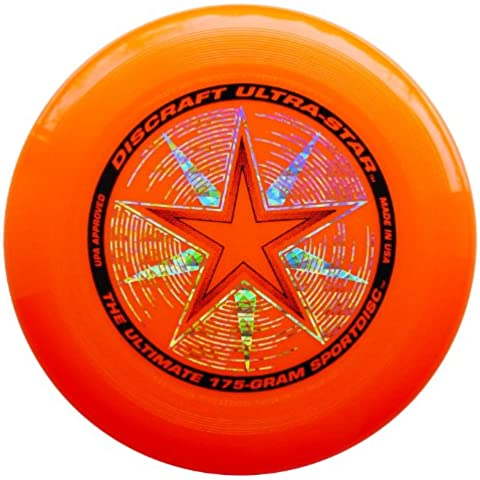 Discraft Ultra-Stars Ultimate - Frisbee de 175 g Bright Orange with Deluxe Packaging Talla:175g