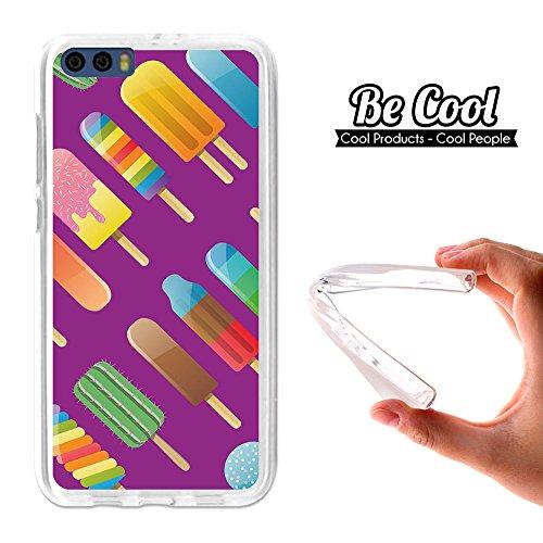 Becool® - Flexible Gel Schutzhülle für Xiaomi Mi6 Plus, TPU Hülle aus bestem Silikon gefertigt, die dank unserem exklusivem Design sich einwandfrei an Ihr Smartphone anpasst und optimalen Schutz gewährleistet. Polos Geschmack Lila. (Plus Polo Cool)