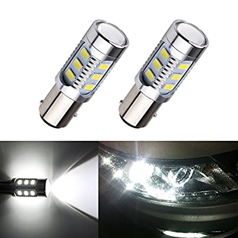 S&D Car Lights BAY15D 1157 12 SMD Cree XPE Lamp