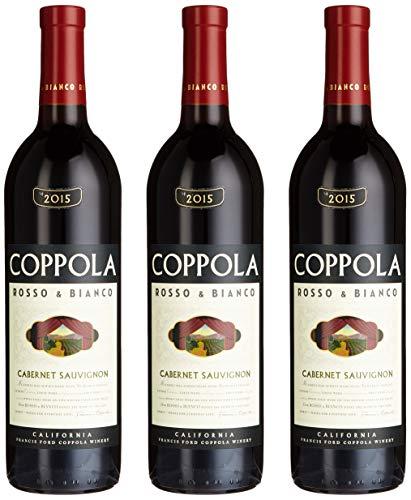 Francis Ford Coppola Winery Rosso und Bianco Cabernet Sauvignon 2014/2015 (3 x 0.75 l)