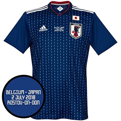 Player Print - adidas Performance Japan Home Trikot 2018 2019 inkl vs Belgien Wm Druck - XXL