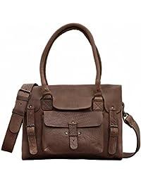 LE RIVE GAUCHE M Taupe sac bandoulière cuir style vintage PAUL MARIUS