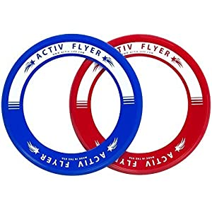Activ Life Best Kids Wurfringe, Frisbee [Rot   / Blau] Top...
