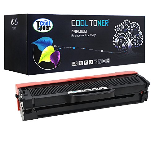 Preisvergleich Produktbild Cool Toner ( 80% mehr Inhalt! ) ersetzt Tonerkartusche XXL MLT-D111S, D111S, 111S, MLTD111S fuer Samsung Xpress SL- M2020W M2022 M2022W M2026 M2026W M2070 M2070W M2070F M2070FW