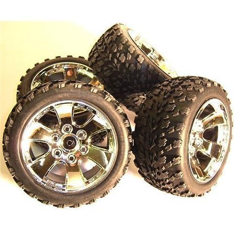 BS903-002 1/10 Maßstab Offroad Räder / Reifen RC Nitro Lkw Buggy X 4
